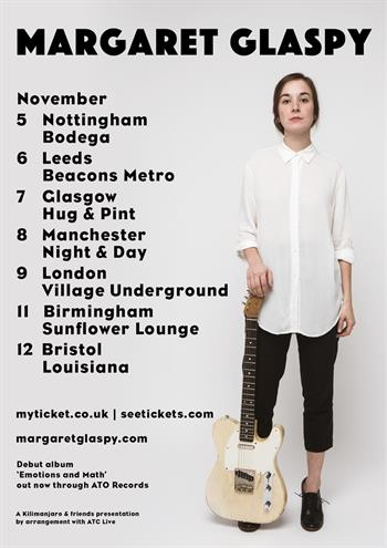 Margaret Glaspy UK Tour 2016