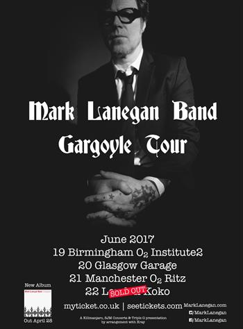 Mark Lanegan Band UK Tour 2017