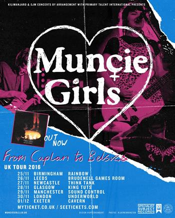 Muncie Girls UK Tour 2016