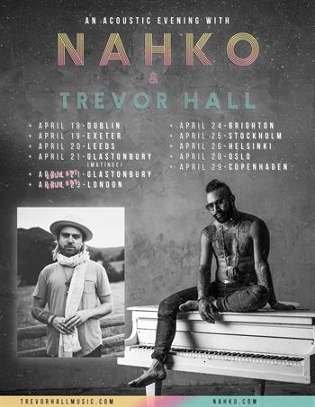 An Acoustic Evening with Nahko & Trevor Hall UK Tour 2018