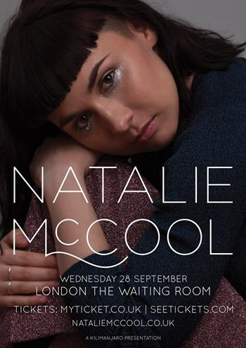 Natalie McCool UK Tour 2016