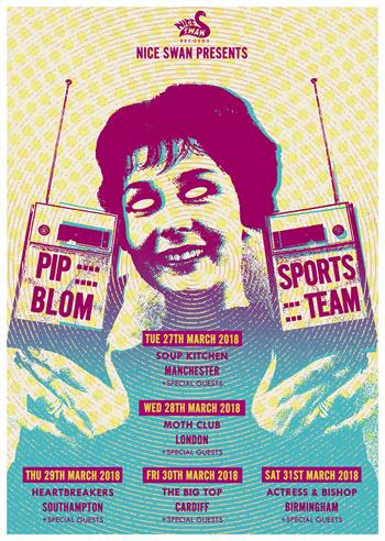 Nice Swan presents Pip Blom + Sports Team UK Tour 2018