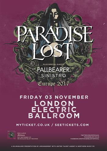 Paradise Lost 2017 new