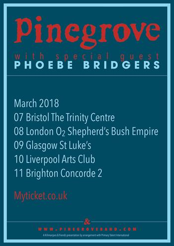 Pinegrove tour 2018