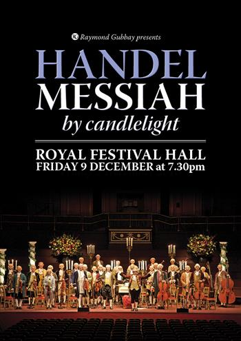 Messiah by Candlelight UK London 2016 show