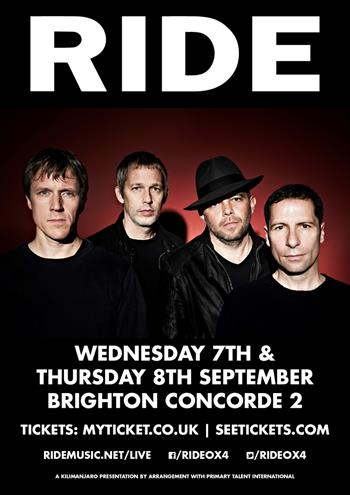 Ride UK Brighton 2016 shows