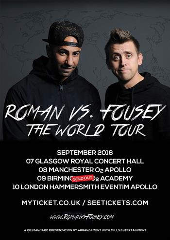 Roman Vs Fousey UK Tour 2016