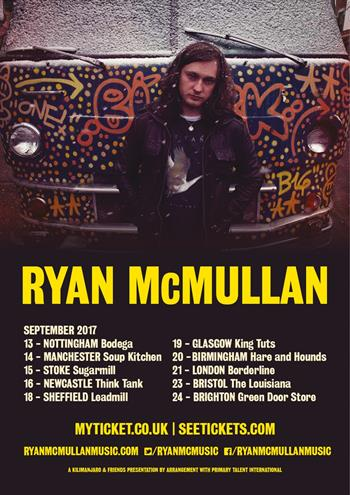Ryan McMullan UK Tour 2017