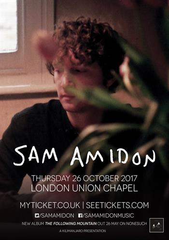 Sam Amidon UK London 2017 show