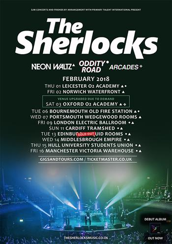 The Sherlocks Tour NEw