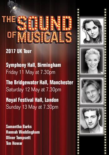 The Sound of Musicals UK Tour 2017