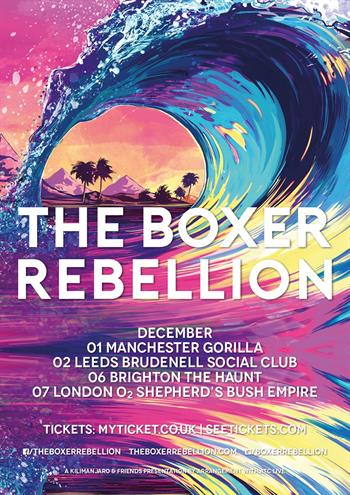 The Boxer Rebellion UK Tour 2016