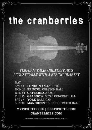 The Cranberries UK Tour 2017