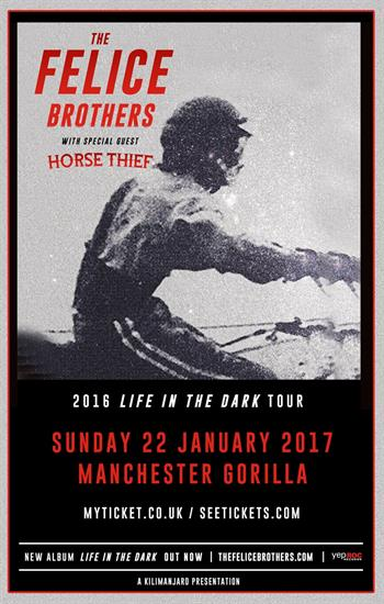 The Felice Brothers UK Manchester show 2016