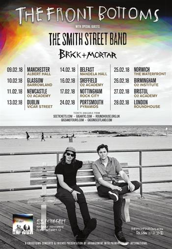 The Front Bottoms UK Tour 2018