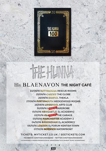 The Hunna UK Tour 2016