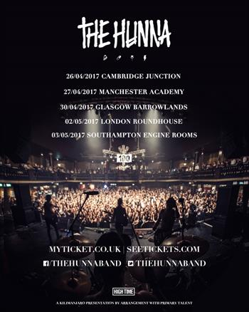 The Hunna UK Tour 2017