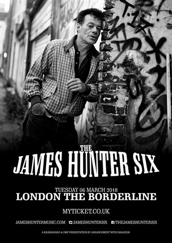 The James Hunter Six UK London 2018 show
