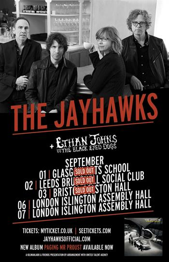 The Jayhawks UK Tour 2016