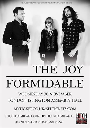 The Joy Formidable UK London show 2016