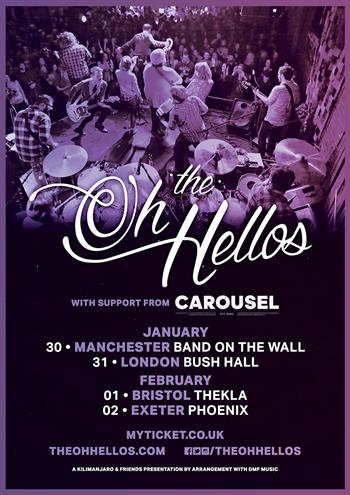 The Oh Hellos tour