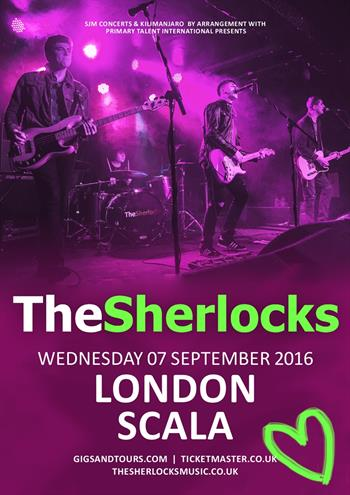 The Sherlocks UK London 2016 show