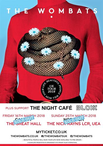 The Wombats UK Tour 2018