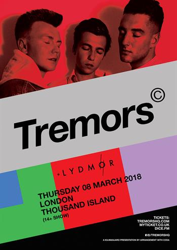 Tremors UK London 2018 show