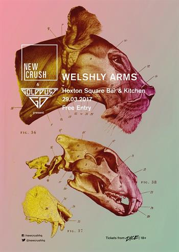 New Crush: Welshly Arms UK London 2017 free show