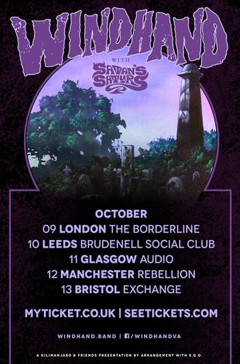Windhand UK Tour 2017