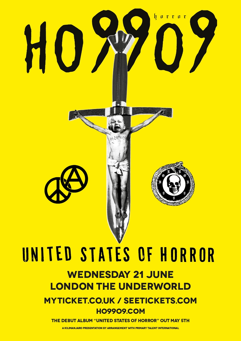 Ho99o9 (Horror) UK London 2017 show
