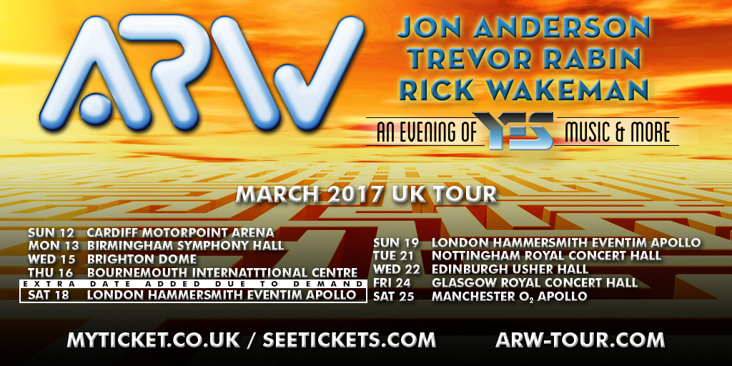 ARW UK Tour 2017