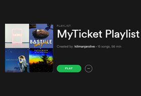 MyTicket Playlists